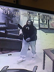 The La Vergne Police Department is asking for assistance in identifying, locating and apprehending two armed robbery suspects who are still at large after a Wednesday night theft.
