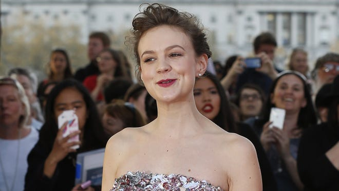 Carey Mulligan on the red carpet ahead of the world premiere of the film 'Far From The Madding Crowd' in central London on April 15, 2015.