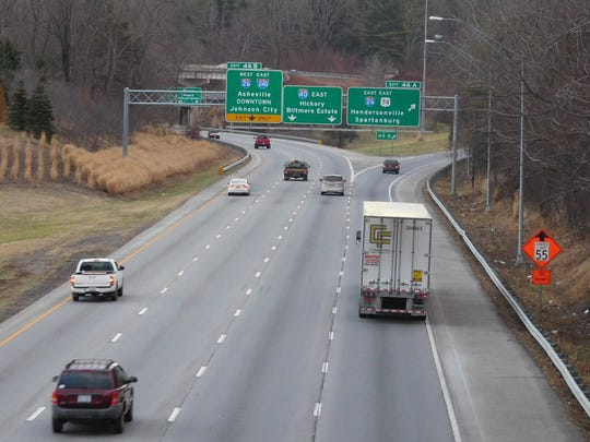 The plans to rebuild the I-26/I-40/I-240 interchange,