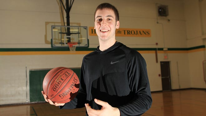 City High's Connor McCaffery poses for a photo on Tuesday, March 29, 2016.