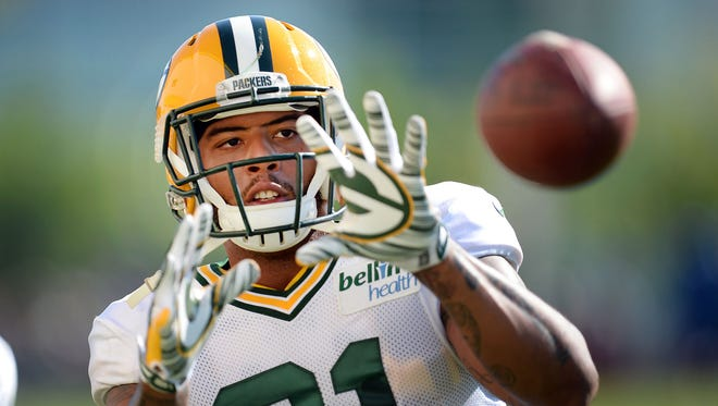 TIght end Andrew Quarless.