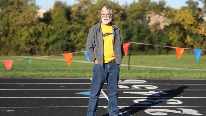 Terry Elsey of Farmington Hills has run in the Detroit marathon 38 straight years.