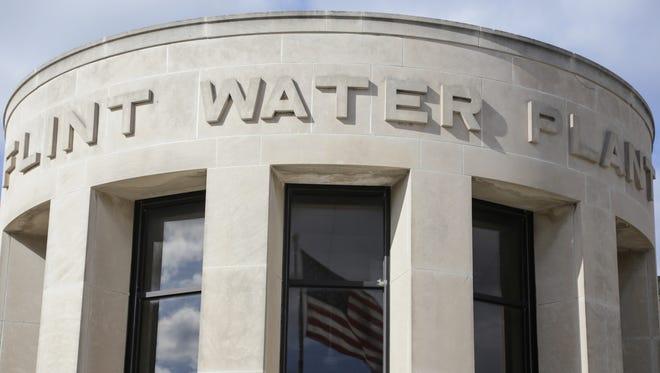 Flint water treatment plant