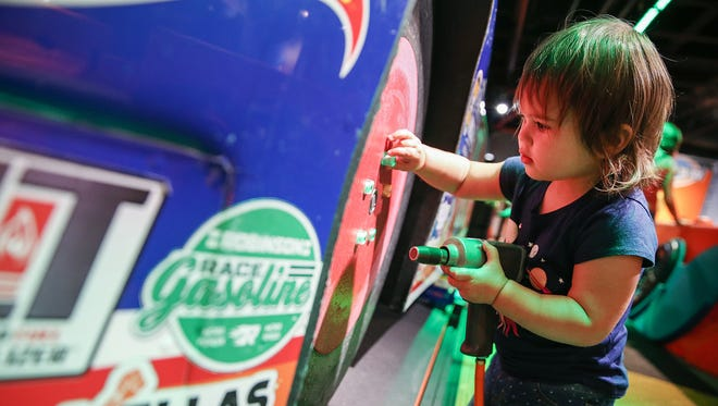Racing Day at The Children's Museum is Saturday, May 19.