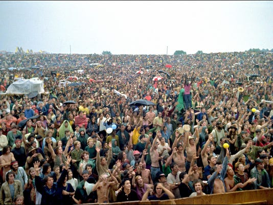 AFP US-ENTERTAINMENT-WOODSTOCK E MUS USA NY