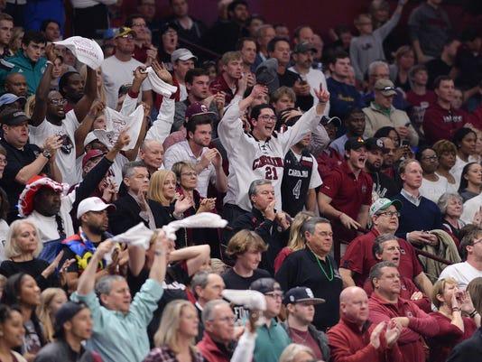 South Carolina, Marquette NCAA Tournament