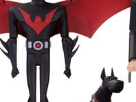 """Get ready for a """"Tales of the Dark Knight"""" toy set with Batman, Carrie Kelley as Robin, and Mutant Leader."""