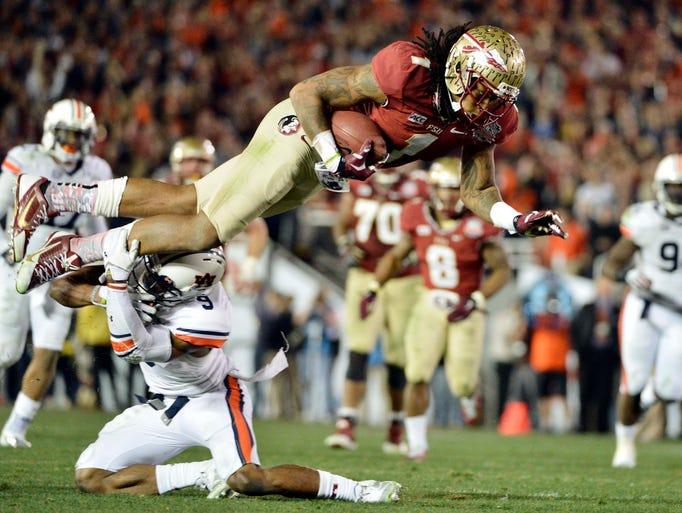 Florida State Seminoles wide receiver Kelvin Benjamin,