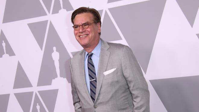 Aaron Sorkin at the 2018 Oscars.