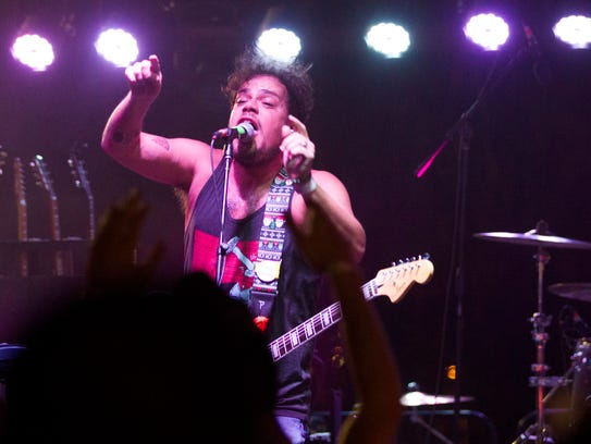 Jeff Rosenstock performs on the Second Avenue stage