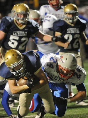 FILE – Roncalli and Cathedral last played each other in a 2012 sectional game. They meet again Friday night.