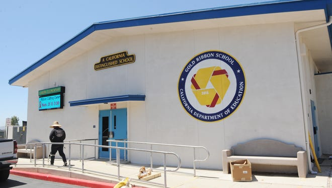 Summer construction projects were undertaken at Ladera Elementary School in Thousand Oaks.