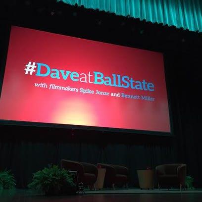 David Letterman is speaking at Emens tonight. Follow
