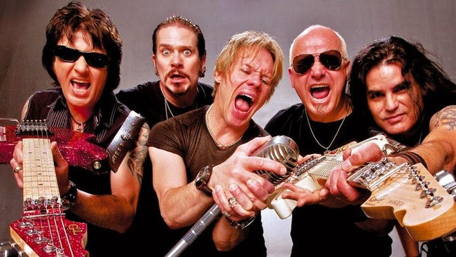 Glam metal fans, rejoice. Warrant is coming to town.