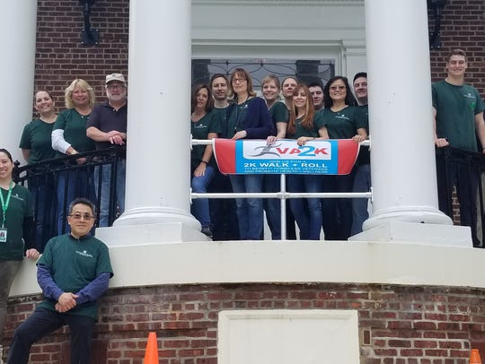 Peapack-Gladstone Bank employees supporting veterans