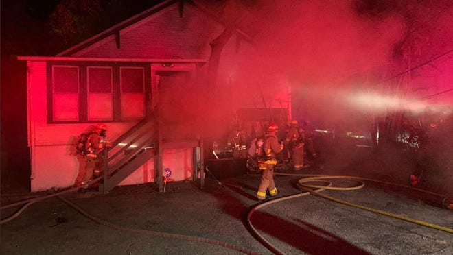 Austin firefighters responded to a home in the 1600 block of Nueces Street early Thursday, June 18, 2020.