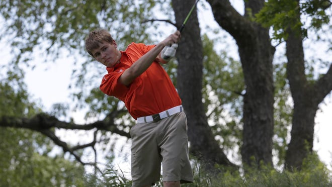 Mishicot's Austin Schnell was a first-team all-Big East Conference golfer.