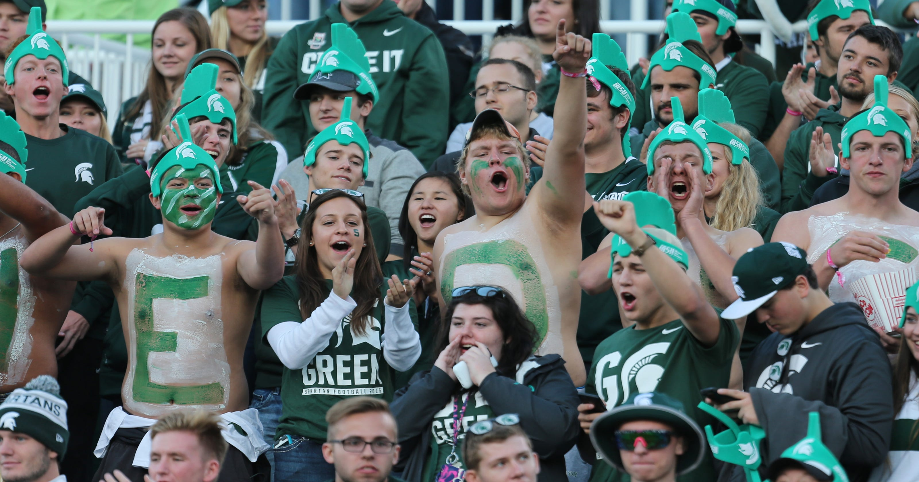 Were you at Michigan State vs. Oregon  Find yourself in this picture 9efd8bd8294b1