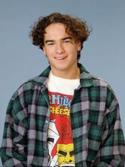 Johnny Galecki back in his 'Roseanne' days.