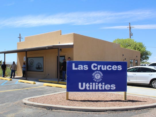 The new LCU East Mesa Customer Service Center at 5195
