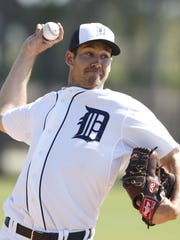 Tigers pitcher Luke Putkonen.
