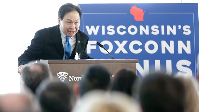 Alan Yeung, who oversees U.S. strategic initiatives for Foxconn.