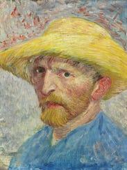 """Self-Portrait,"" by Vincent van Gogh (1887) at the"