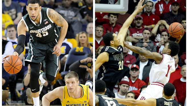 Michigan State plays Michigan just once this year, on Saturday. Same goes for Indiana and Purdue, which meet Feb. 20 in Bloomington, Ind. The Big Ten needs to protect its rivalries.