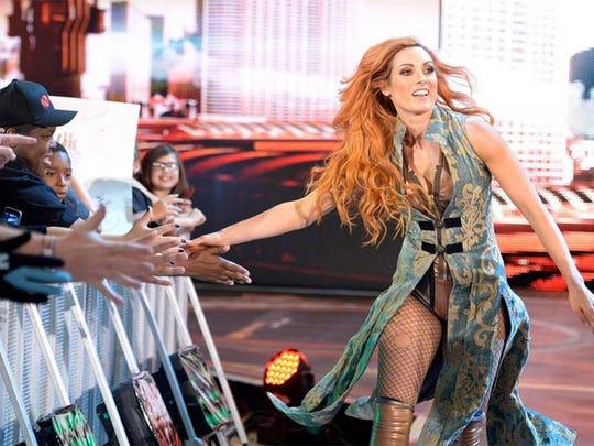 WWE's Becky Lynch explains how she's preparing for SummerSlam