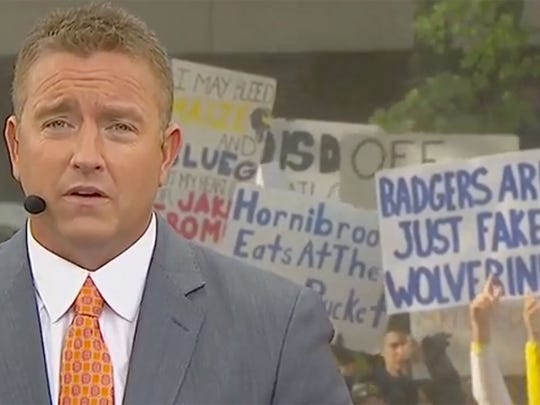 The best College GameDay signs from Ann Arbor