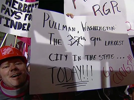 The best signs from ESPN's College GameDay at Washington State