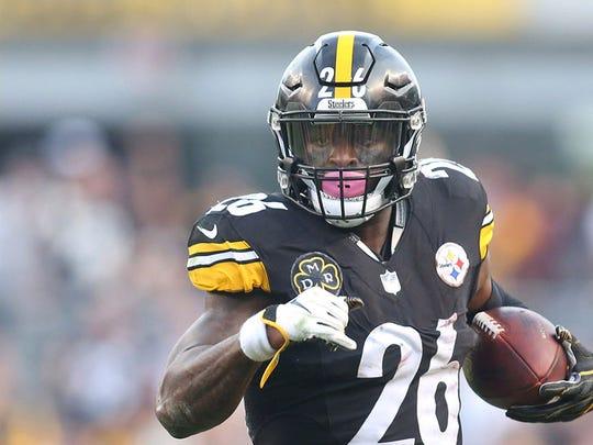 LeVeon Bell tuvo un exitoso paso por los Steelers.