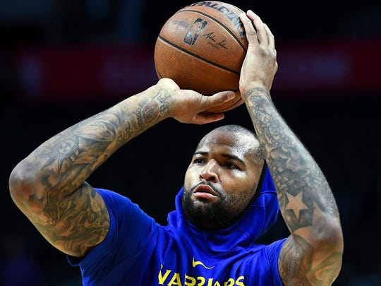 The Warriors have reached Death Star mode with DeMarcus Cousins. Great.