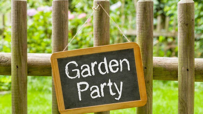 A small garden party -- if guests wear masks and follow social distancing guidelines -- can be a perfect scenario to both socialize and soak up the summer sun.