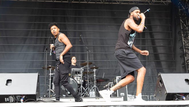 Blackillac performs during the Austin City Limits Music Festival in Zilker Park on Saturday, October 12, 2019 in Austin, Texas