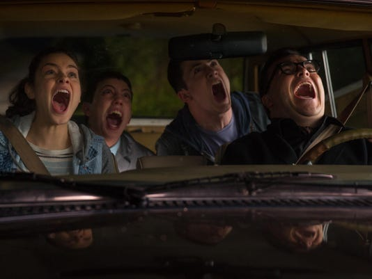 Dylan Minnette; Jack Black; Odeya Rush; Ryan Lee