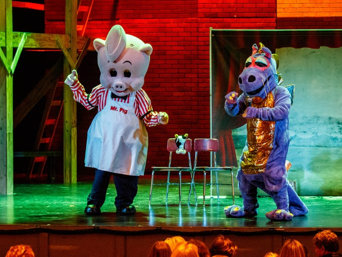 Piggly Wiggly's Mr. Pig and Dugan the