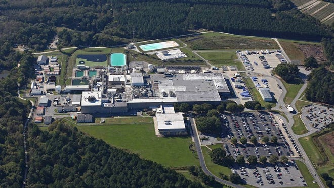 Westinghouse nuclear fuel factory in lower Richland County. The factory makes fuel for atomic power plants across the country.
