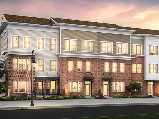 The Heights at Main Street is a new townhome development under construction at Main Street North Brunswick.