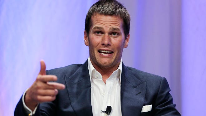 On Thursday, New England Patriots quarterback Tom Brady gestures during an event at Salem State University in Salem, Mass. Blurring the line between legal and illegal, then figuring out how to get away with it, is as old as keeping score. But what two New England Patriots employees did when they executed a plan to deflate footballs to Brady's liking, according to a report authored by attorney Ted Wells, was a direct violation of a well-defined rule about equipment that didn't leave room for shades of gray.