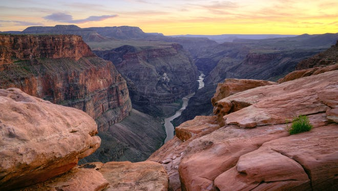 7. Grand Canyon National Park -- Located in Arizona, this 1,902-square-mile National Park was named a UNESCO World Heritage site in 1979. Formed by the Colorado River over millenia, the Grand Canyon is considered one of the Seven Natural Wonders of the World.