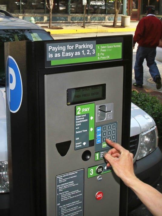 Indianapolis parking meters