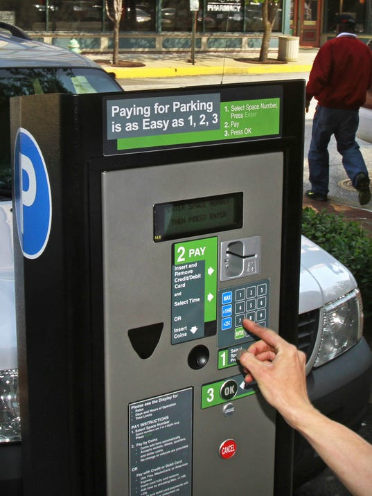 How Far Is A Meter : Parking meter revenues falling far short of expectations