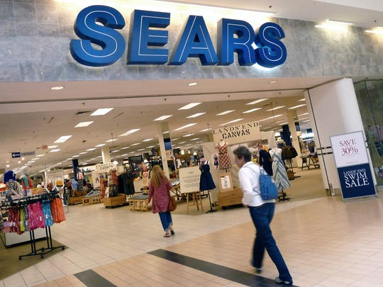A Sears store in Peabody, Massachusetts. The troubled retail chain says it may sell more of its real estate, slash more jobs and sell more of its famous brands as it seeks to make a profit.