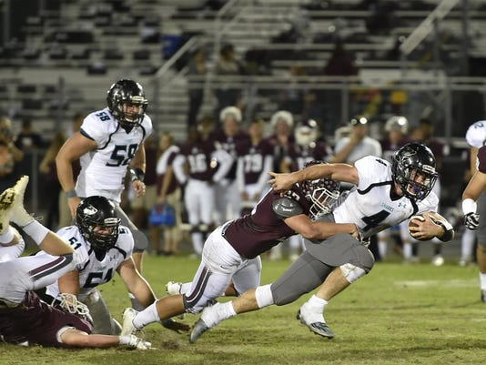 East Bradenton / Football: Braden River Pirates vs. Naples Gulf Coast