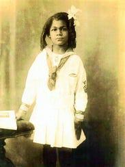 Adelle Merrit, Dennis Richmond's great-grandmother, in 1919.