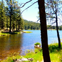 Southern Arizona lakes for boating, swimming, fishing