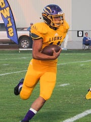 Ozona's Kobe Rodriquez has rushed for 703 yards to lead a Lions rushing attack that has churned out 2,082 yards this season.