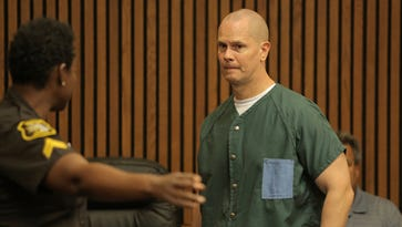 Richard Wershe Jr. enters the courtroom at the Frank Murphy Hall of Justice in Detroit on Friday, Sept. 4, 2015.