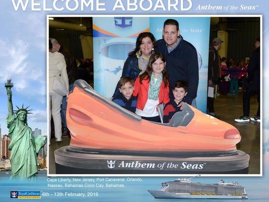 The Kurys aboard Anthem of the Seas